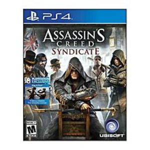 SonyPLAYSTATION 4 DVD ASSASSIN CREED SYNDICATE PS4 GAME