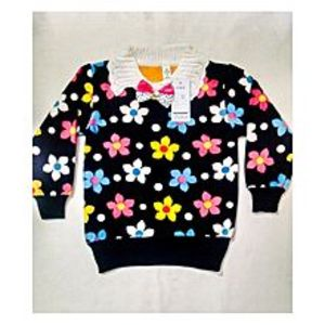 Wardrobe Desire Winter Collection Velvet Sweaters for Girls-Black