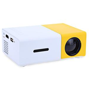 Portable Mini LED Projector - The Most Cost-efficient Resolution LED Projector