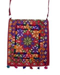 Multicolor Cotton Hand Made Hand Bag for Women