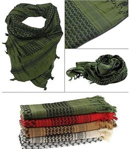 Pack Of 4 - Unisex Military Arab Army Scarf For Women Bws-9994