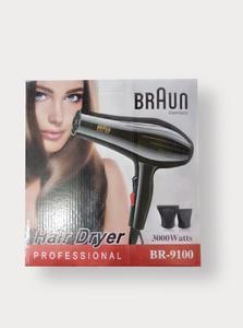 BRAUN BR-9100 - Professional Hair Dryer