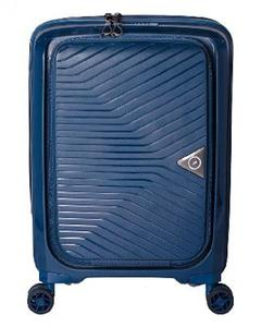 GURANDO 4W Trolley Cabin with Laptop Compartment 55 cm - Blue