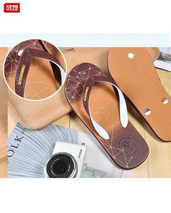 High Quality Flip Flop Slippers for Men's- Brown- Size:40