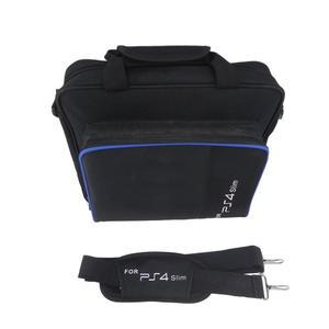 Game Console Storage Bag Shoulder Shock Proof Travel Hand for PS4 Slim