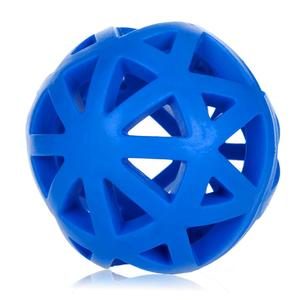 Rubber Dog Toys Leakage Ball Hollow Out Pet Feed Interacting Training