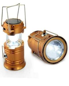 Camping Lantern Solar Powered & Rechargeable Tent Lamps With USB Charger, Camping Gear Portable LED Hanger Night Lights Flashlight for Emergency Hurricanes Outages Fishing