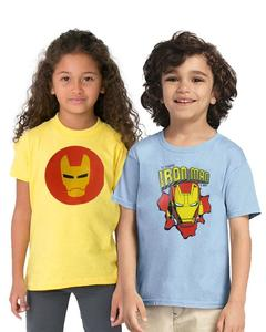 Pack of 2 IronMan Kids T-Shirt Combo