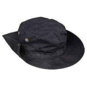 Boonie Hat Bush Jungle Wide-Brim Sun Cap Black