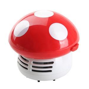 JoyLife Mini Mushroom Desk Cleaner Vacuum Cute Corner Table Dust Collector