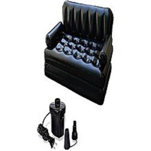 LifeStyle Sofa Come Bed With Electric Pump & Bag 5 In 1 Inflatable