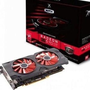 XFX Radeon RX 570 RS XXX Edition 1286MHz, 8gb 256bit GDDR5, DX12 VR Ready, Double Dissipation, Dual BIOS, 3xDP HDMI DVI, PCI-E AMD Graphics