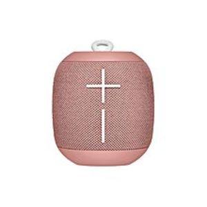 LogitechUltimate Ears WONDERBOOM Super Portable Waterproof Bluetooth Speaker - Cashmere Pink