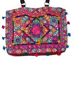 Multicolor Cotton Embroidered Bag for Women
