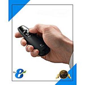 LogitechR-400 - Wireless Presenter Impressive Laser - Black