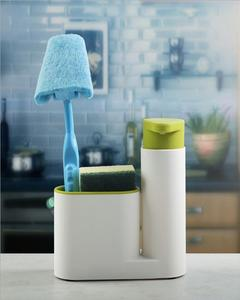 Kitchen Sink Rack With Soap Dispenser