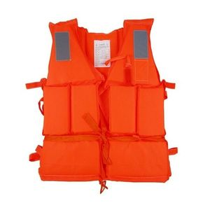 Swimming Life Saving Jacket for Adults - Orange