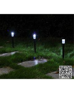 Flair 2Pcs High Quality Waterproof Solar Lamps Garden Lawn lightings