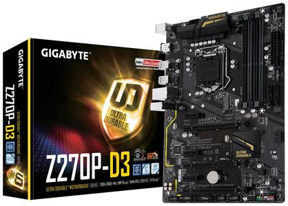 Gigabyte Z270P Motherboard Support 6th & 7th Generation Processor