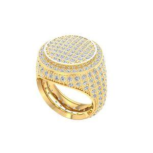 Full Diamonds Italian Silver 925 Ring