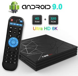 Smart TV Box T95 MAX 4GB 32GB  Smart Set top box H6 H.265 4K and 6K Google Player Store Netflix media player T95 Android TV Box