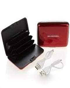 Bell + Howell E-Charge Wallet With RFID Protected Technology
