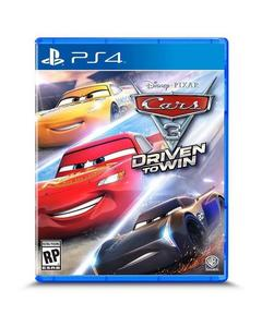 Sony Playstation 4 Dvd Cars 3 Driven To Win Ps4 Game