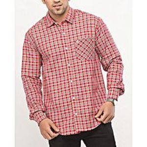 DenizenMutlicolor Cotton L/S Woven Shirt Yellow-Cdn Special Online Price