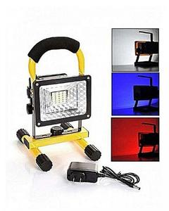 Round Portable Hi Power Rechargeable Flood Light
