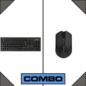 Combo of A4Tech 3000N 2.4 Wireless Keyboard + Mouse