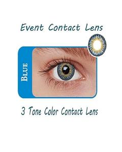 Event 3 Tone Contact Lenses - Blue