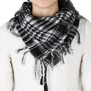 Black and White Desert Shemagh Scarf-Army Military Style-TRIXES Weather