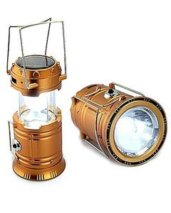 Solar Led Flashlight Camping Lights - Rechargeable Lantern