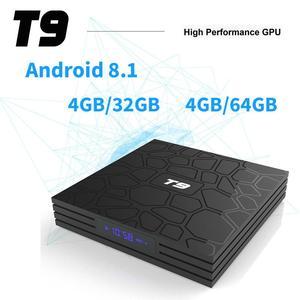 SMART BOX T_9 ( 4GB + 64GB ) QUAD CORE 4K ULTA HD 9.0V