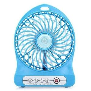 Mini Portable Usb Rechargeable Fan And Power Bank -
