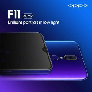 "Dubai Shop OPPO F11 MObile Phone - 6.5"" HD Display - 4GB RAM - 64GB ROM - Fingerprint Sensor"