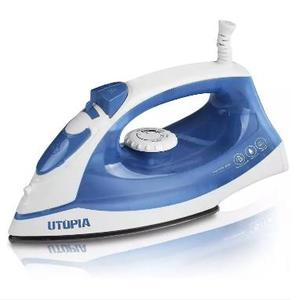 Steam Iron with Nonstick Soleplate (110V) - Blue