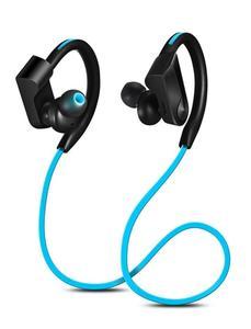 Bluetooth Wireless Earphone With Mic - Blue