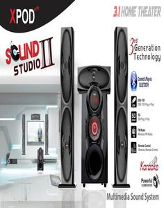 SOUND STUDIO II 3.1 SOUND SYSTEM & HOME THEATER WITH BLUE TOOTH