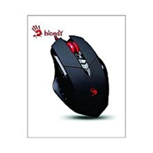 Bloody A4Tech V7M 3200Dpi - Gaming Mouse 3D Wired Dragon Custom - Black