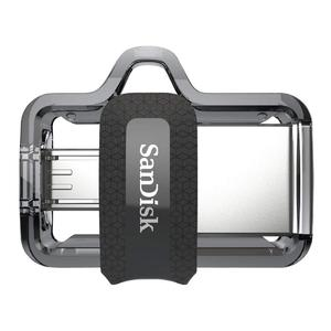 SanDisk 128GB Ultra Dual Drive m3.0 for Android Devices and Computers - microUSB, USB 3.0
