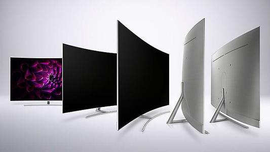 CURVED LED TV 55 INCHES SMART - Black
