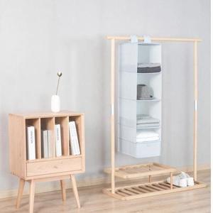 Xiaomi Mi Home Hanging Storage Bag 5 Layers Natural Household Closet Organizer   - Blue