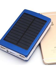 20000mAh - Solar Power Bank - Black
