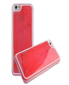 For Samsung J5 2016 Moving Glitter Red Mobile Cover