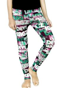 ABBY Empire  Multicolors Cotton Printed Tights for Girls