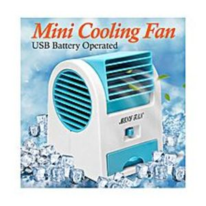 Haider'S shopMini Air Cooler Fan - Usb Pin - Battery Operated