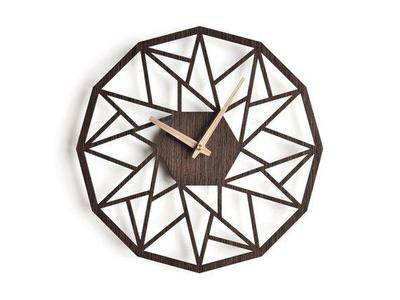 Antique Descent Wooden Wall Clock For Lounge