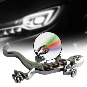 Solar Energy Gecko Graphic Fancy Car Auto Stickers Brake Caution Lamp Light