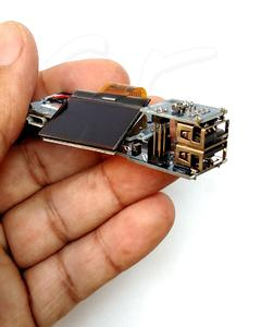 5V 2.1A Mobile Power Bank Charger Module Dual USB 18650 Battery Charging Board LCD Display